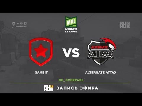 Gambit vs ALTERNATE aTTax - ESEA Premier Season 24 - de_train [ceh9]