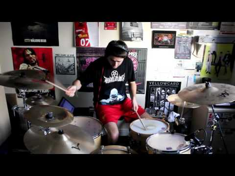 A Day To Remember Negative Space Drum Cover