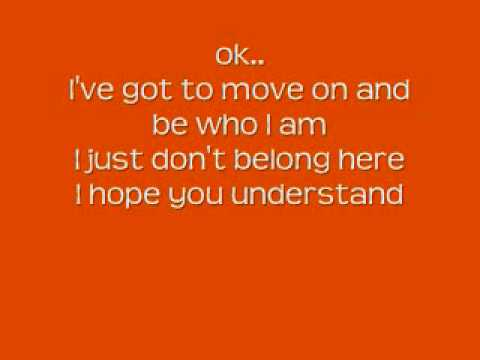 HSM 2- gotta go my own way lyrics