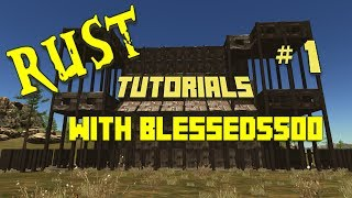 Rust Game Tutorials With Blessed5500 Update 1-9-2014 Revolver and Metal Window Bars Added