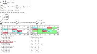 Транспортная задача №2. Метод наименьшей цены. Распределительный метод.