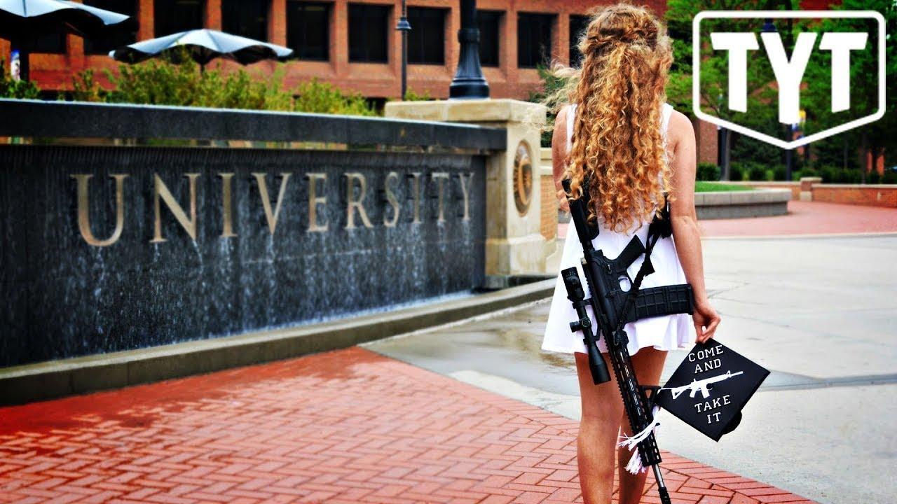 Gun rights activist Kaitlin Bennett makes appearance at Ohio ...