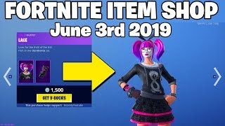 Lace Skin has RETURNED ! - Fortnite Item Shop 3rd of June (FORTNITE BATTLE ROYALE)
