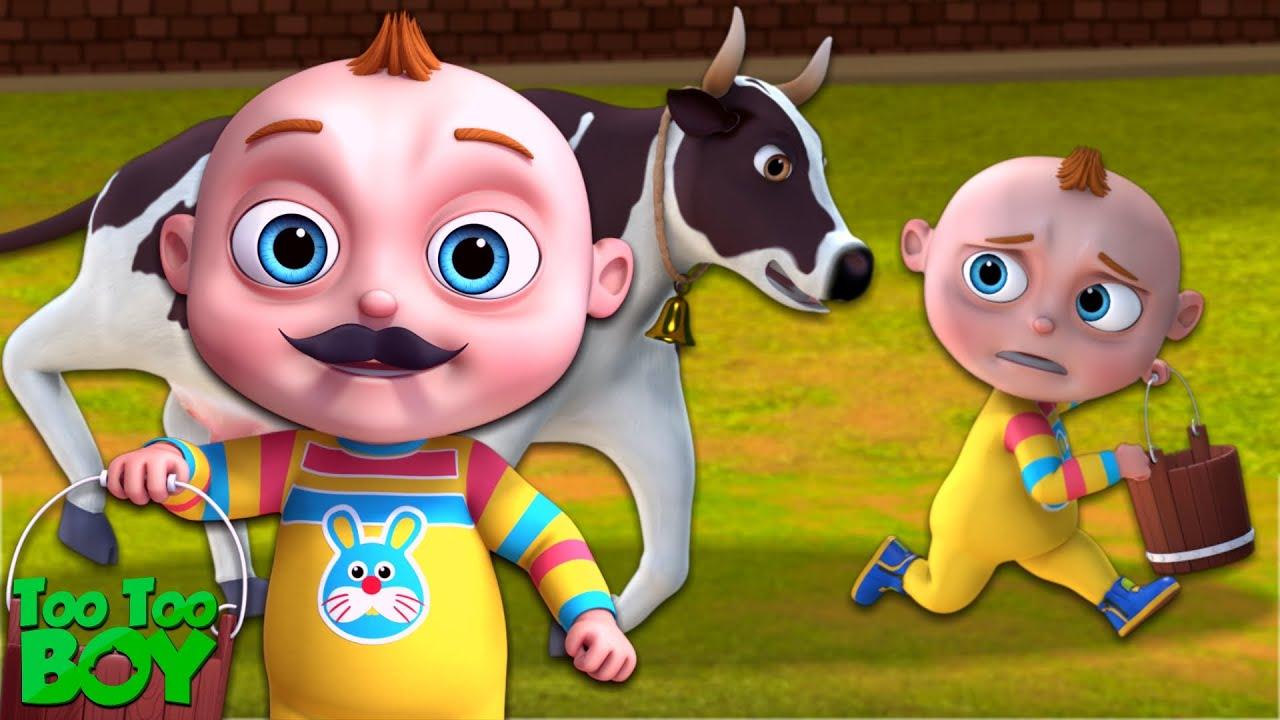 Cow Milk Episode | TooToo Boy Series | Cartoon Animation For Children | Videogyan Kids Shows