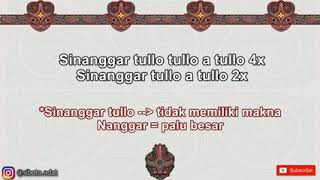Download Lirik lagu Sinanggar Tulo ( Sumatera Utara)