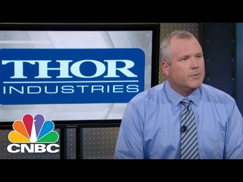 Thor Industries CEO: Instagrammable Experience| Mad Money | CNBC