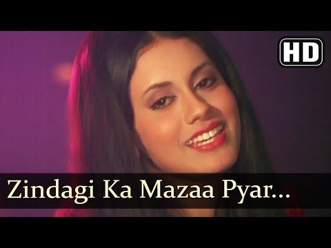 Zindagi Ka Mazaa Pyar (HD) - Jab Andhera Hota Hai Song - Vikram -Prema Narayan - Bollywood Classics
