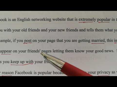 เทคนิคการอ่านและแปลบทความ ภาษาอังกฤษ เรื่อง Facebook