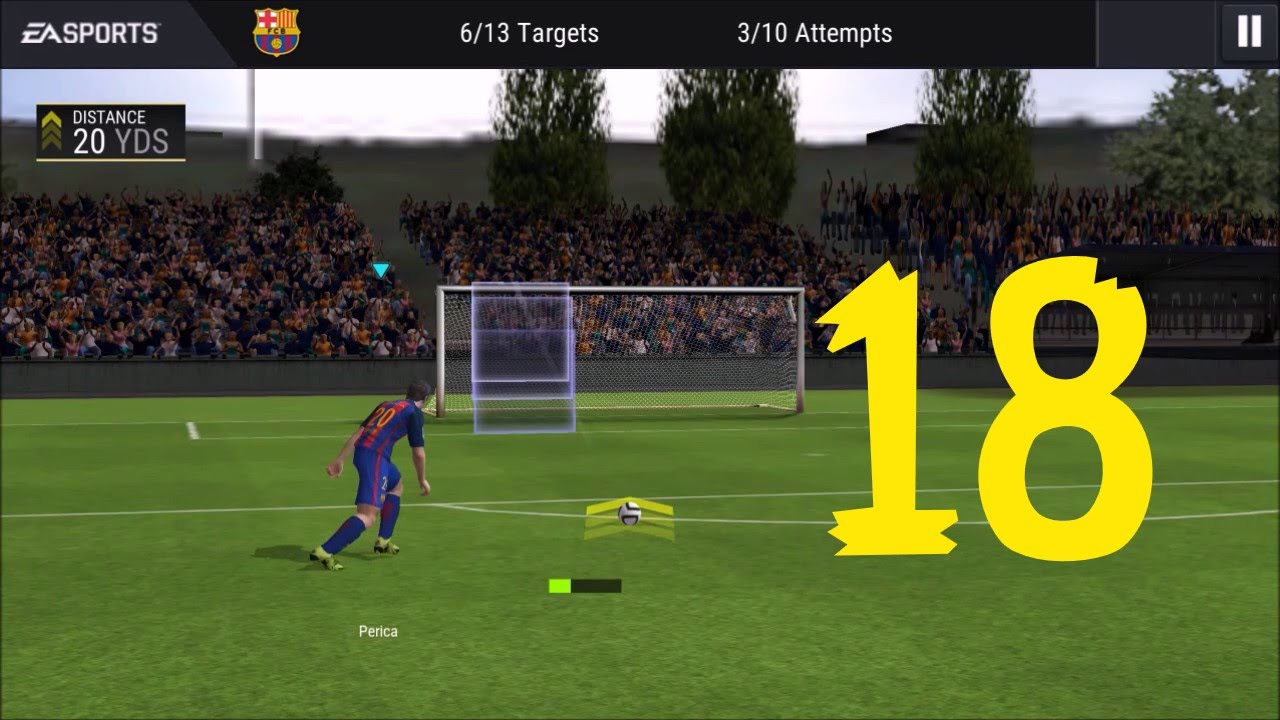 FIFA 17(FIFA Mobile Football) ANDROID & IOS GAMEPLAY #18 ...