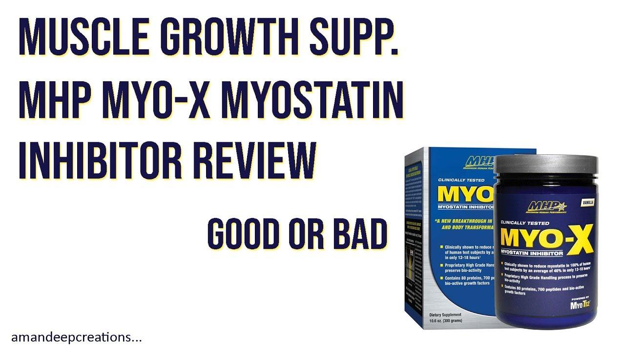 Muscle Growth Supplement MHP MYO-X Myostatin Inhibitor ...