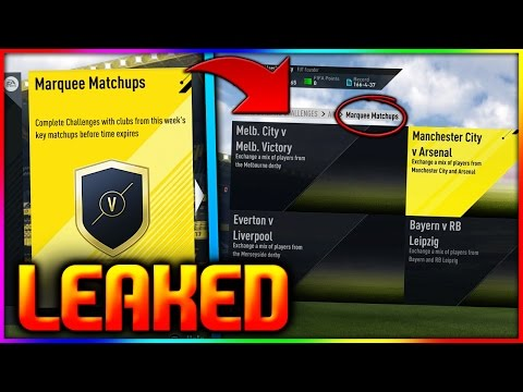 FIFA 17 | THESE MARQUEE MATCHUPS WERE LEAKED - FIFA 17 MARQUEE MATCHUPS INVESTING DECEMBER #3