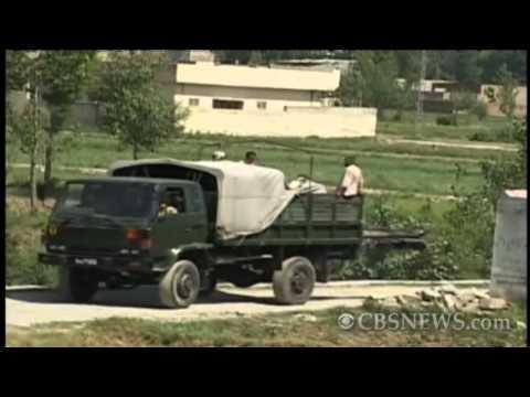 Osama bin Laden compound, morning after U.S. raid