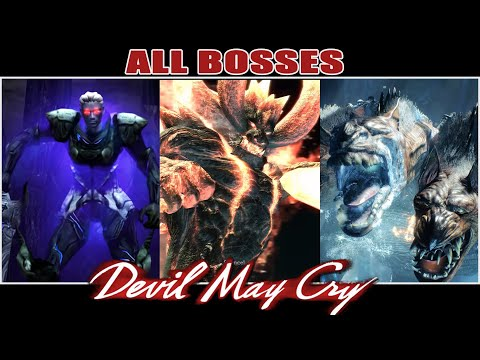 All Bosses of Devil May Cry (2001-2019) thumbnail