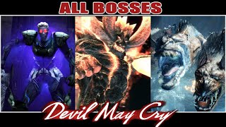 All Bosses of Devil May Cry (2001-2019)