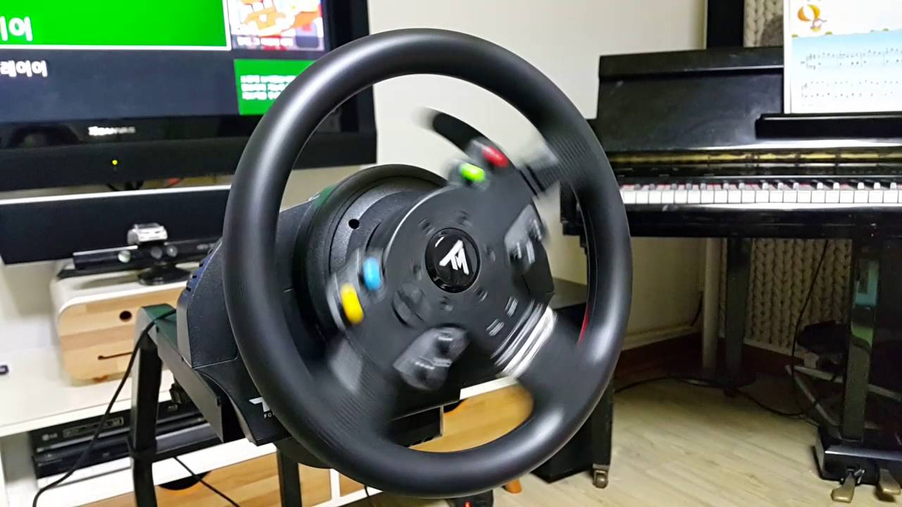 Thrustmaster TMX Force Feedback racing wheel, Start - YouTube