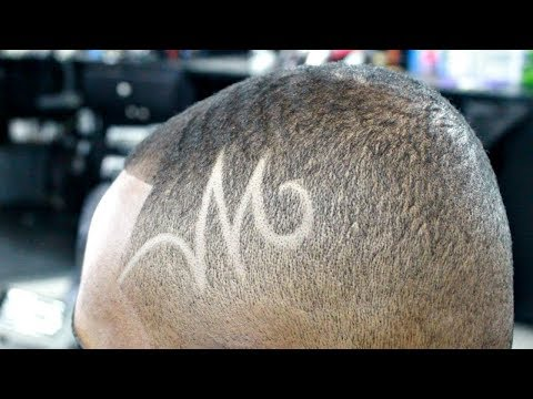 HOW TO DO A SIMPLE HAIR DESIGN | FOR BEGINNER BARBERS