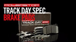 homepage tile video photo for Track Day Spec Brake Pads | PowerStop