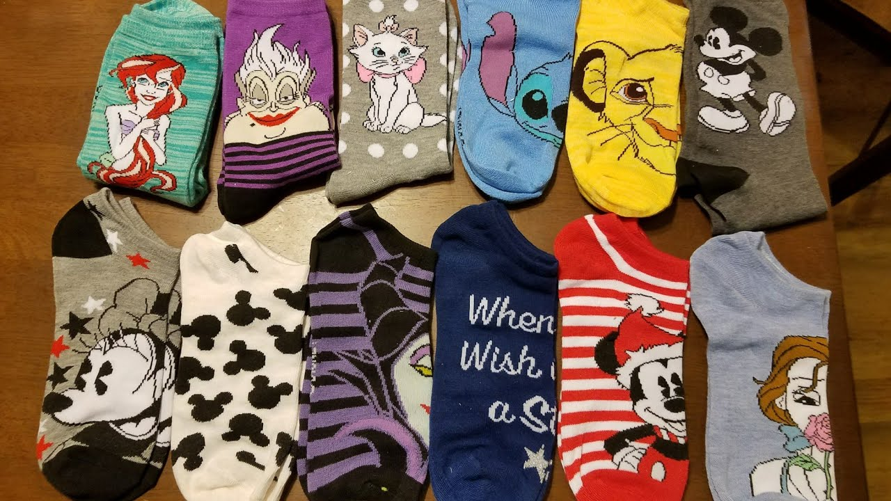 target 12 days of socks disney advent calendar 2017