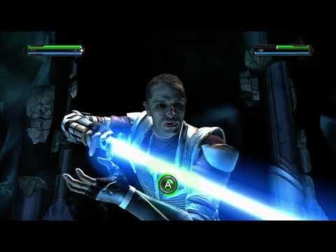 Star wars the Force unleashed ultimate Sith edition gameplay (Starkiller vs. Evil Starkiller) |