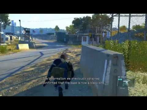 Metal Gear Solid V Ground Zeroes - Destroy the Anti-Air Emplacements Guide (S-Rank,Tape,Extraction)