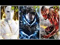 THE FLASH Fastest Speedsters Ranked