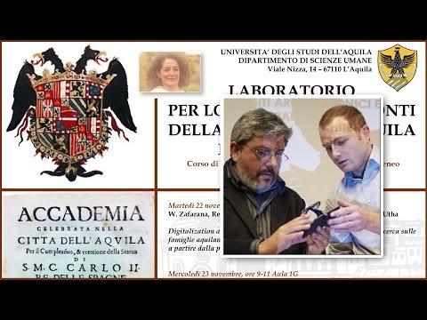 Laboratorio di Storia Moderna - De Gasperis e Cordisco - 7 dicembre 2016
