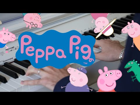 Peppa Pig Intro - Piano