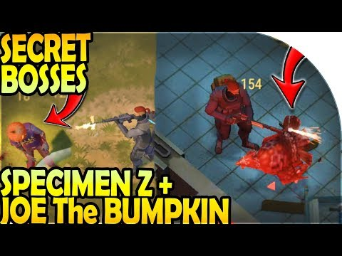 NEW SECRET HALLOWEEN BOSSES (SPECIMEN Z + JOE THE BUMPKIN) - Last Day on Earth Survival Update 1.10