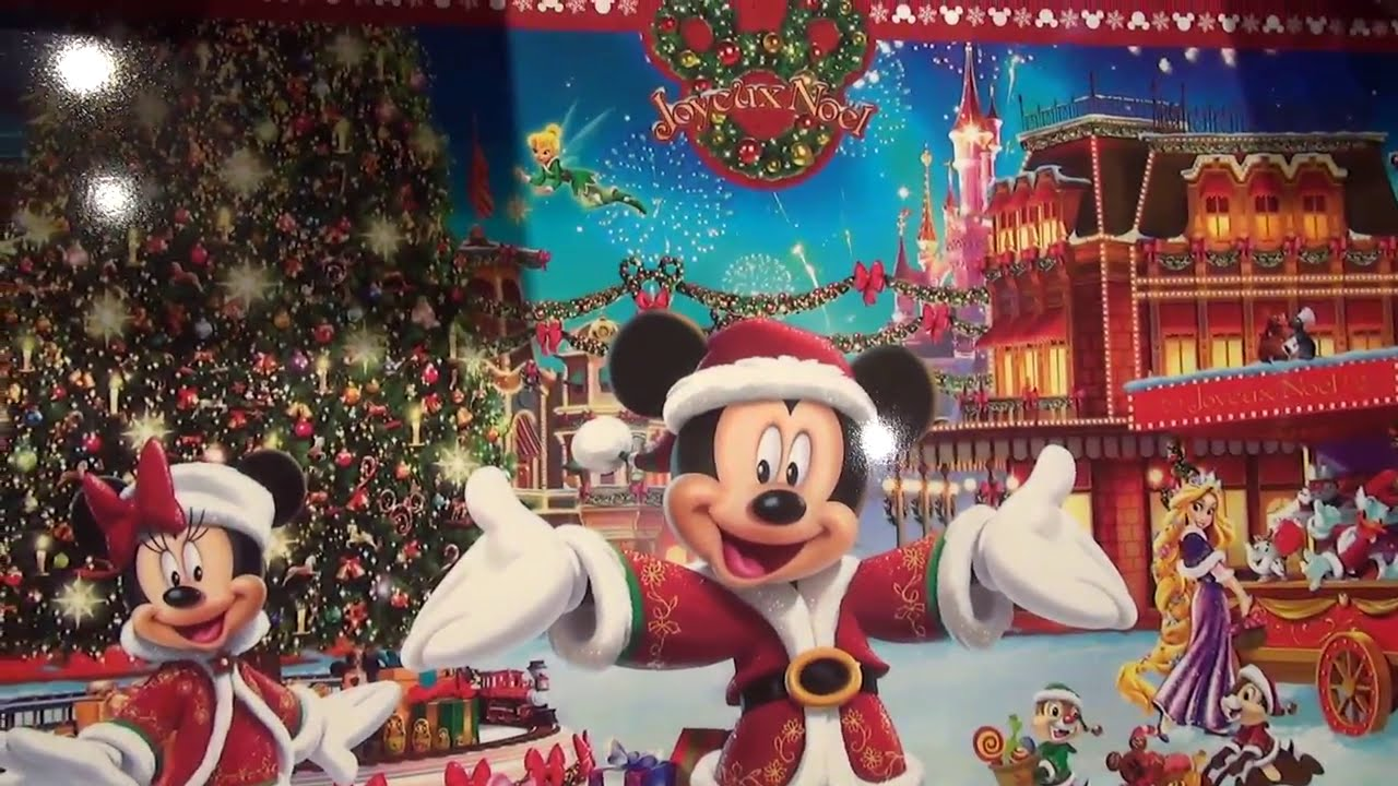 Christmas Shopping Shopping De Noel Disneyland Paris Youtube