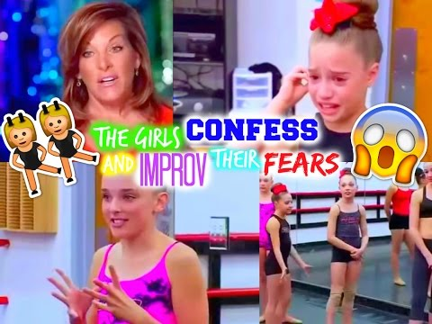Dance Moms - The Girls Confess & Improv Their Fears (Clip)