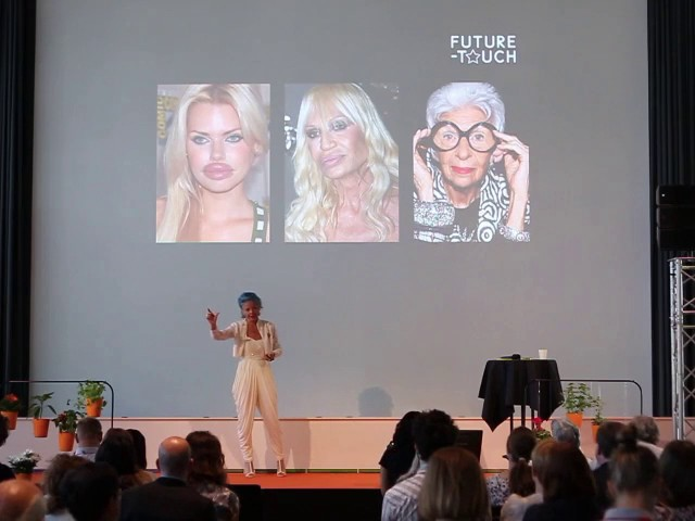 """Trend forecasting presentation """"Cool to be Old"""" Resume The Bridge Sweden"""
