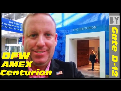 *NEW* DFW AMEX American Express CENTURION LOUNGE - Dallas/Ft Worth Airport