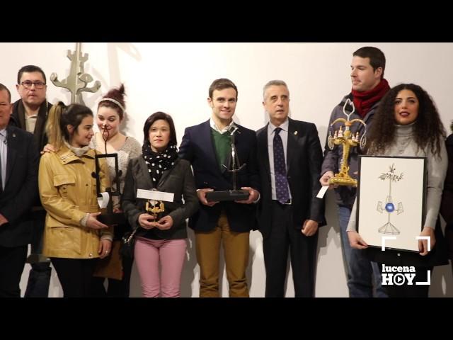 VÍDEO: Entrega de Premios del Concurso de Ideas sobre el Velón de Lucena