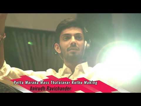 Petta Marana Mass Thalaiavar Kuthu Making Video | Anirudh Ravichander | Odhisha Boys BAND