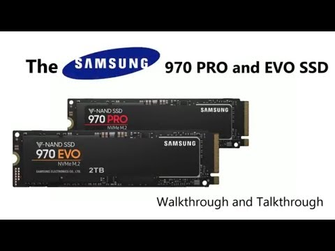 The Samsung 970 NVMe SSD range of M 2 in PRO and EVO 2TB, 1TB and 500GB