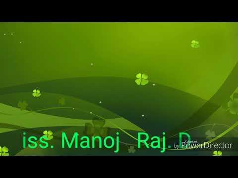 D.  J.   Manoj.  Raj