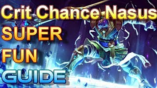 Critical Chance Nasus Guide - The Dirty Dog - League Of Legends