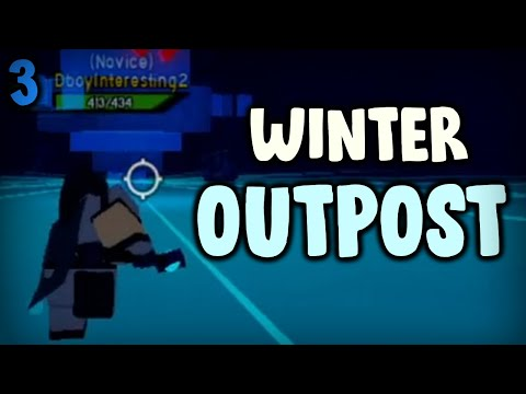 WINTER OUTPOST! Noob To Pro #3 | Dungeon Quest Roblox