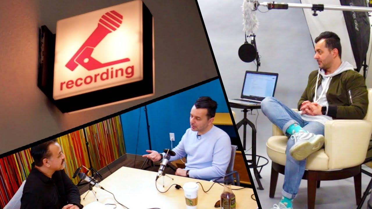Massive THREE Podcast Pile Up!   VLOG #009