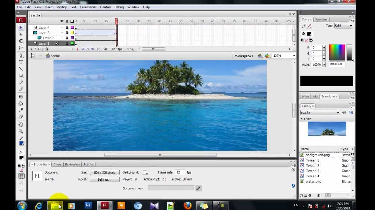 Water Ripple Actionscript In Flash 35