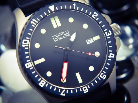 GPW Titanium Military Watch Review