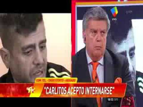 Carlos Nair será internado en un psiquiátrico por temor a riesgos de terceros y de vida