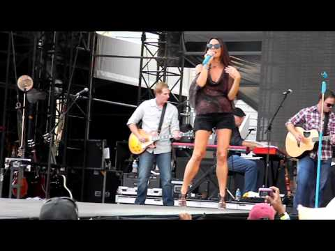 Sara Evans - As If - Live at Bayou Country Superfest, Baton Rouge, LA 5/27/2012