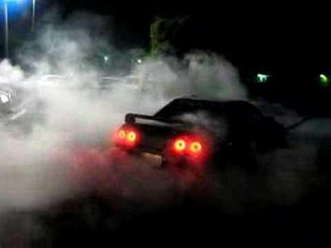 Car Burnout Live Wallpaper Skyline Gtr Burnout Youtube
