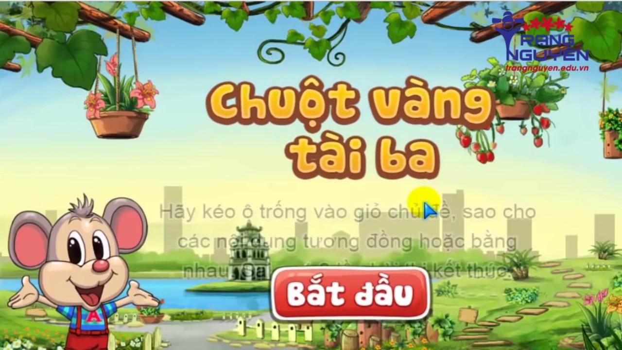 Thi Trạng Nguyên Tiếng Việt Lớp 5 Vòng 3 | Thi Trạng Nguyên Tiếng Việt Mới Nhất