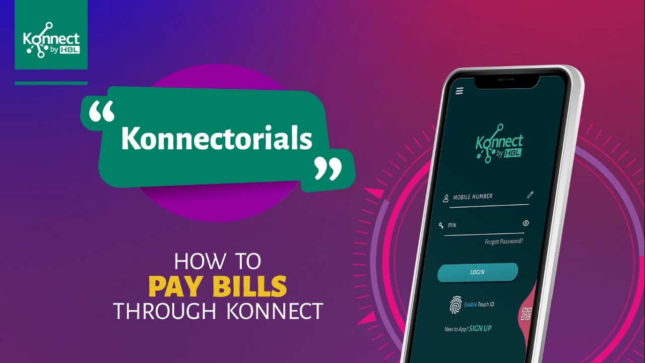 How to Pay Utility Bills with Konnect