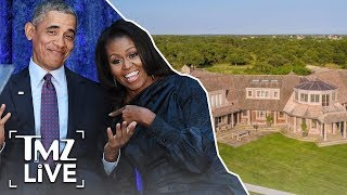 The Obamas Purchased A $11.75 Mil Martha's Vineyard Estate | TMZ Live