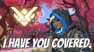 Grand Master Overwatch w/ Ana (51% Kill Participation) [Defense Cheese]