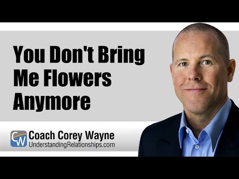 You Don't Bring Me Flowers Anymore