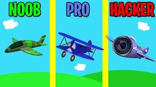 NOOB vs PRO vs HACKER in Merge Plane!